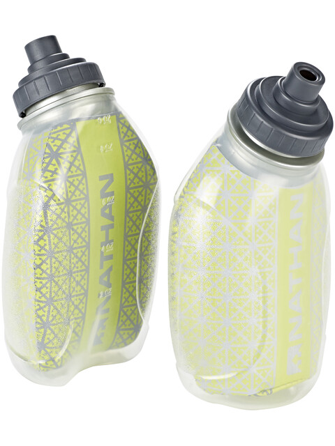 Nathan Fire & Ice Flask 235ml 2 Pack Lime Punch